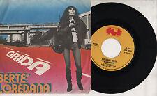 LOREDANA BERTE disco 45 giri MADE in ITALY Grida + Ricominciare 1977