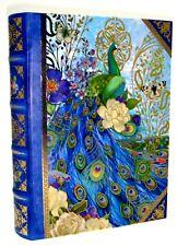Pooch & Sweetheart Nesting Book Box Blue Peacock 81136 Medium Punch Studio