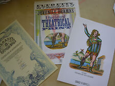 LOTHAIR - HAND COLOURED THEATRICAL PRINT WITH CERTIFICATE