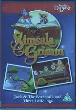 Jack & The Beanstalk - Three Piggies simsala & grimm (readers digest)DVD