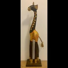 motivo: casa small Legno Trofeo con testa 3D Wall Art-Decorazione da parete Grande//piccola in legno giraffa