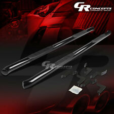 """BLACK 3"""" SIDE STEP NERF BAR RUNNING BOARD FOR 07-16 TOYOTA TUNDRA EXTENDED CAB"""