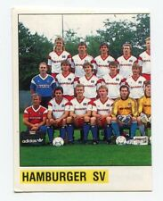 PANINI FUSSBALL 89 BUNDESLIGA Sticker #75 Hamburger SV HSV Mannschaft links