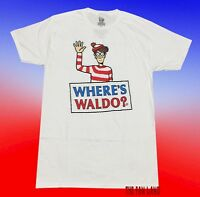 New Where's Waldo 1987 Mens Retro Vintage T-Shirt