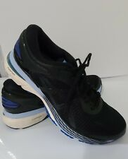 ASICS Men  Gel-Kayano 25 Running  Shoes Black/Blue Size 10.5 Style #1012A026