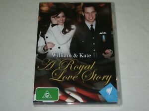 William & Kate - A Royal Love Story - Brand New & Sealed - Region 0 - DVD