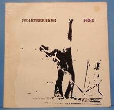 FREE HEARTBREACKER SW-9324 VINYL LP '72 ORIG PINK BAND LBL PLAYS GREAT! VG+/VG!!