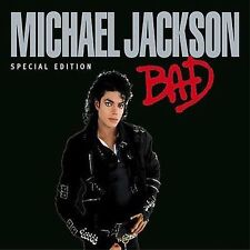 FREE US SHIP. on ANY 2+ CDs! ~Used,Good CD Michael Jackson: Bad (Spec) Extra tra