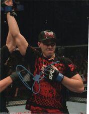 UFC Ultimate Fighting Dan Hardy Autographed Signed 8x10 Photo COA W