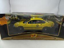 1:18 Maisto Premier Edición #36617 Chevrolet Impala Taxi Amarillo - Rareza§
