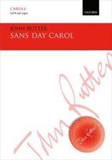 Sans Day Carol Vocal score Rutter, John 9780193407398 Paperback
