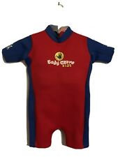 BODY GLOVE KIDS SZ M 40-50 lb Childs Red & Blue Padded Float WetSuit Life Jacket