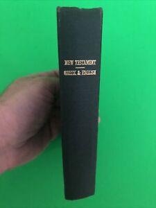 Greek English New Testament - 1961 - Printed in Great Britain - Hardcover