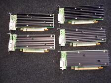 HP 454319-001 HP NVIDIA QUADRO NVS 290 256MB 400MHZ GDDR2 VIDEO CARD QTY (05) >