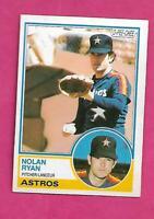 RARE 1983 OPC # 360 ASTROS NOLAN RYAN NRMT CARD (INV# C2268)