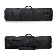 "47"" Tactical Military Heavy Duty Gun Rifle Waterproof Carry Case Bag Backpack BK"