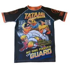 Evan Mannweiler Tatami Comic Book Rashguard Collection fightwear Mens L