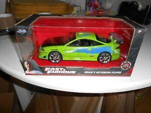 1/24 SCALE JADA FAST AND FURIOUS 1/24 Brian's Mitsubishi Eclipse