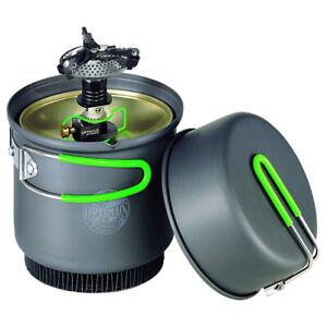 Optimus Crux Weekend HE Kochsystem Gaskocher-Topf-Set