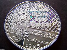 1985 Proteus (John Chase+HAS) .999 Fine Silver Mardi Gras Doubloon