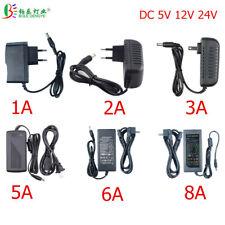 Power Adapter Supply AC 110V/220V To DC 5V 12V 24V Lighting Transformer 1A 2A