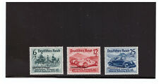 GERMANY SC.B141-143 1938 NURBURGRING AUTO RACES COMPLETE SET MH PBPG2