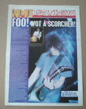 FOO FIGHTERS GIG REVIEW - LEEDS TOWN AND COUNTRY CLUB ADVERT POSTER 15 X 11 in