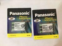 2PCS Genuine Battery for 2.4GHz Panasonic Cordless Phone 830mAh HHR-P104 nimh