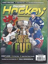 July 2015 Beckett Hockey Price Guide NHL - #275 Quest for the cup