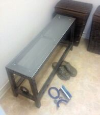 Hand Made Buck Riveted Bench