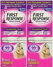 2x First Response Pregnancy Ovulation Test Kit, 8 pc