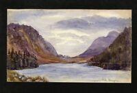 C.A. Grove - 1891 Watercolor - Lochunagan