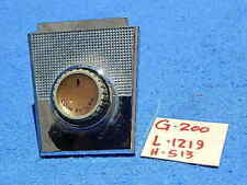 AMI G200 Coin Rejector Knob Trim L-1219 & Knob Assembly H-513