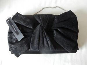 Attractive Black Evening Bag by Marks & Spencer Autograph BNWT