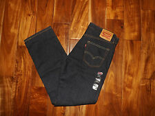 NWT Mens LEVIS 514 Straight Fit Extra Dark Wash Jeans Size 36 W 30 L $58