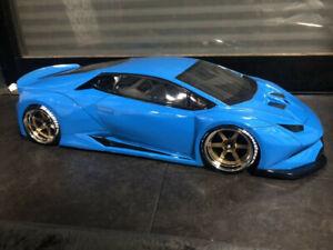 Carrosserie 3 Racing RC 1/10 Lamborghini Huracan drift (no tamiya yokomo mst)