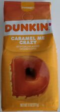 NEW Dunkin' Donuts Caramel Me Crazy Flavored Ground Coffee FREE WORLD SHIPPING