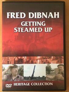 Fred Dibnah Getting Steamed Up DVD (Region 2) FREE UK POSTAGE