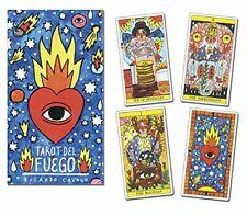 Tarot del Fuego Tarot Deck 78 Cards Divination Prophet Cards