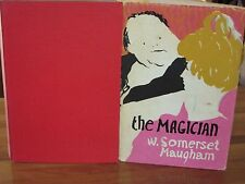 The Magician + A fragment of autobiography ~ W. SOMERSET MAUGHAM.  HbDj  in MELB