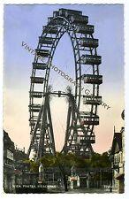 Vintage Real Photo Postcard Riesenrad Giant Ferris Wheel Vienna Austria 1959