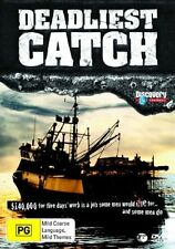 Deadliest Catch : Season 1 (DVD, 2006, 3-Disc Set) New DVD Region 4 Unsealed
