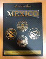Mexico Conmemorative $100 Pesos Bimetalic Coins