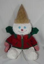 Mr Bingle Plush Christmas Snowman 23 Inches Tall Plus Small Resin Figure