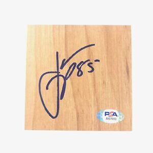 Jannero Pargo Signed Floorboard PSA/DNA Autographed Atlanta Hawks