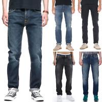 Nudie Herren Regular Tapered Fit Bio Denim Jeans Hose - neu mit kleine Mängel