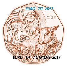 PIECE  DE   5 €  AUTRICHE  COMMEMORATIVE  2017  /  NOUVEAU   2017     disponible