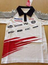 Toyota Offizielle Team Kids Poloshirt PANSONIC Toyota Formel Racing teamf 1