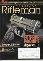 American Rifleman Magazine - February 2011 Springfield's XD(M) Compact