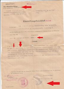 S11, seltener Persil Schein für einen A - Mann aus Nürnberg ausgestellt 1948 !